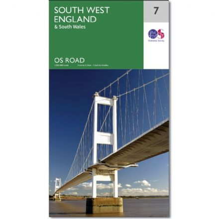 Ordnance Survey Road Map 7 - South West England